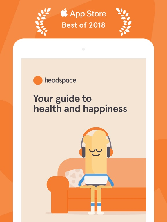 Headspace: Meditation techniques for mindfulness, stress relief & peace of mind screenshot