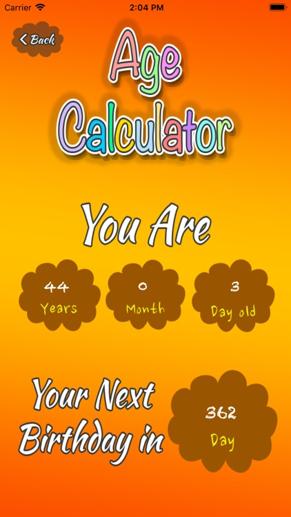 Age Calculator - Get your Age screenshot-3