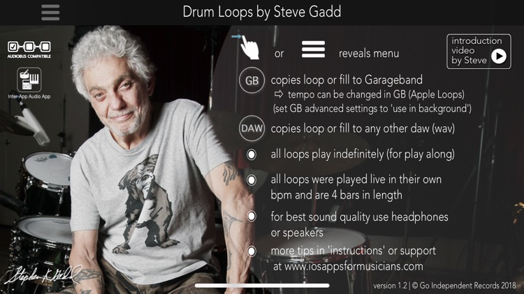 Drum Loops by Steve Gadd screenshot-0
