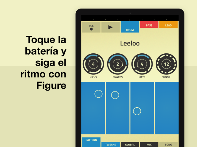 Figure - Para crear música Screenshot