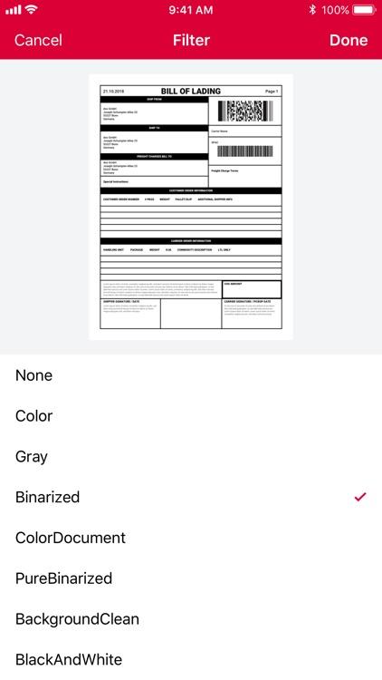 Document Scanner SDK App by doo GmbH