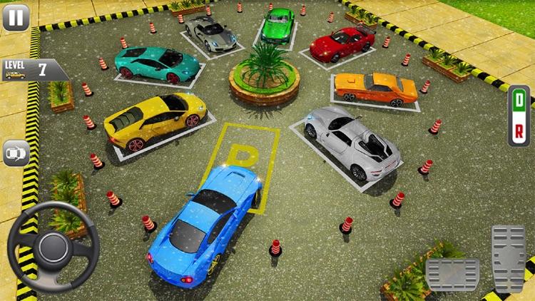 Sports Car Parking Games screenshot-4