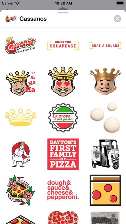 Cassanos Stickers