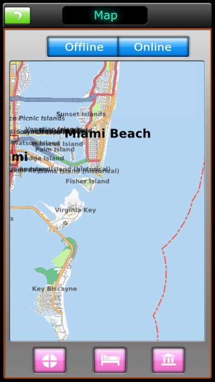 Miami Offline Map Travel Guide screenshot-4