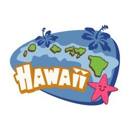 Hawaiian Aloha Stickers