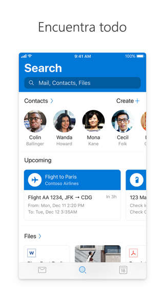 Screenshot for Microsoft Outlook in Argentina App Store