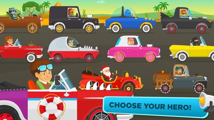 Racing for kids - cars & games screenshot-4