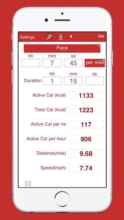 Running and Walking Calories screenshot-9