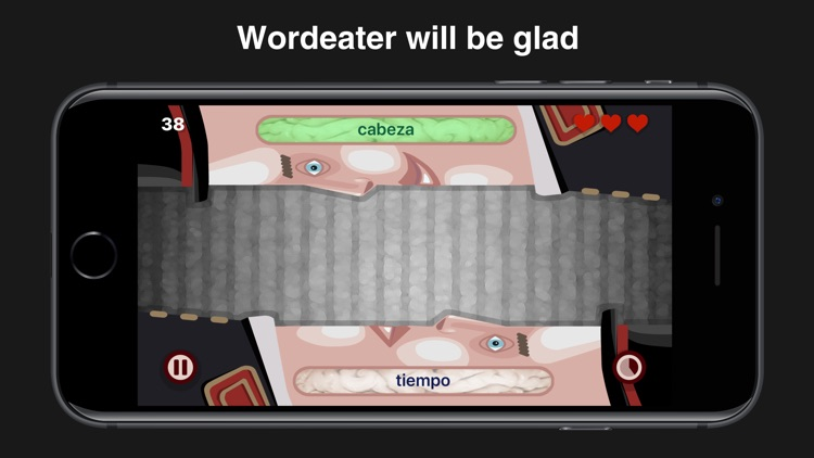 Wordeaters: Russian & Spanish screenshot-3