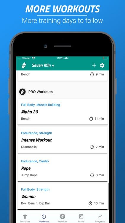 7 Minutes Workouts PRO screenshot-3