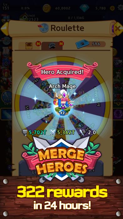 Merge Heroes Frontierのおすすめ画像5