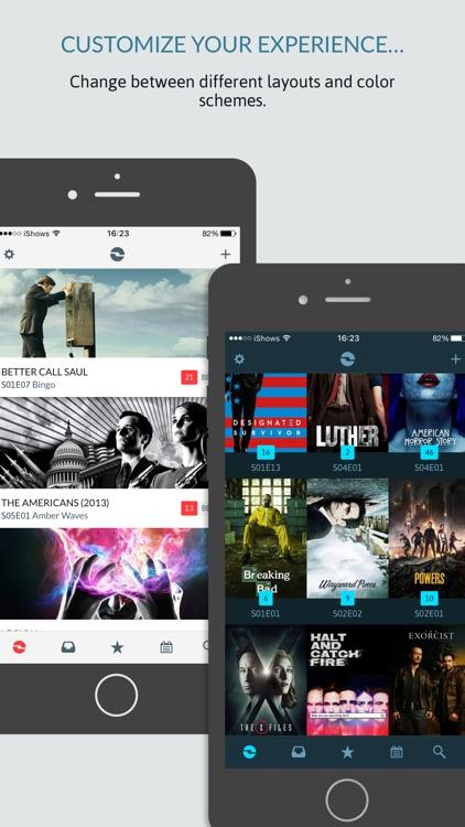 iShows TV powered by Trakt.tv screenshot-3