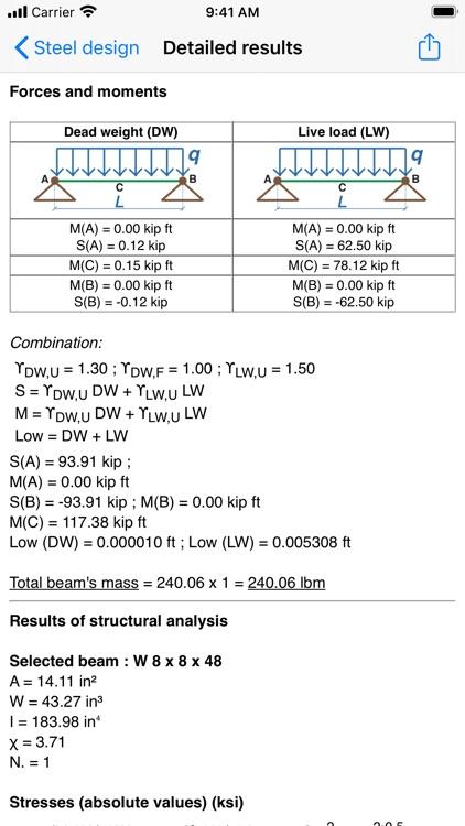 Statics (Civil Engineering) screenshot-3