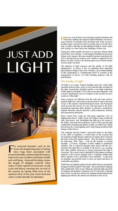 Hoofbeats MagazineScreenshot of 6