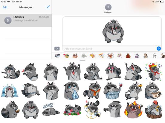 Fox Cute Funny Emoji Stickers screenshot 5