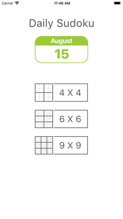 Daily Sudoku - Brain Training screenshot-3