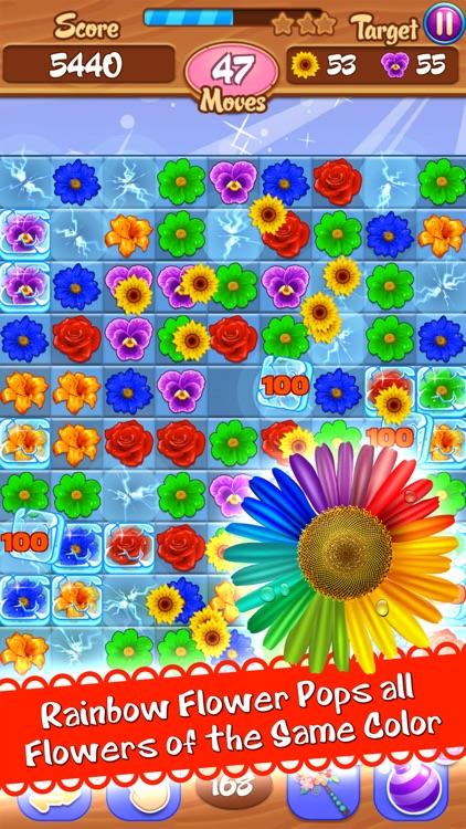 Flower Mania - Match 3 Game