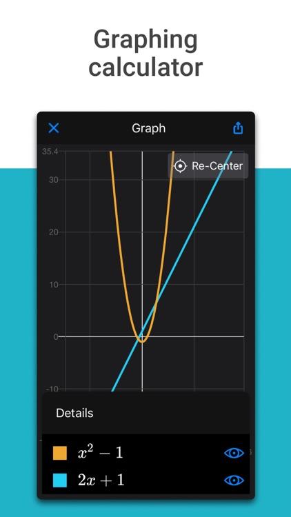 Microsoft Math Solver - HW app screenshot-4