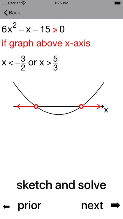 Quadratic Inequalities screenshot-6