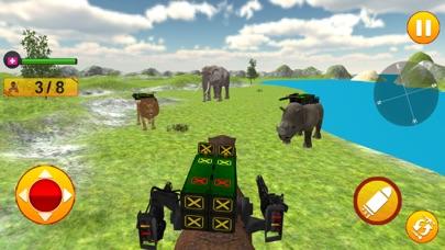 Animal Battle Dinosaur Games screenshot 2