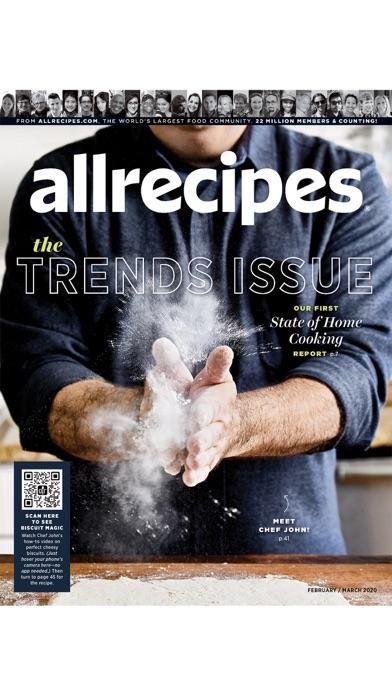 Allrecipes Magazine Screenshot