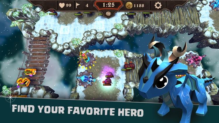 League of Defense: Kingdom war screenshot-3