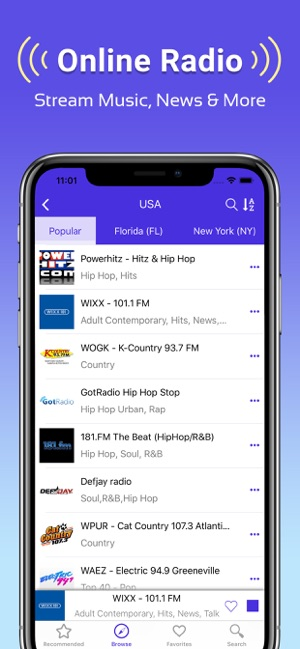 Radio FM: Music, News & Sports on the App Store