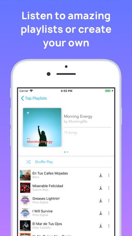 MonkingMe Download Music screenshot-7