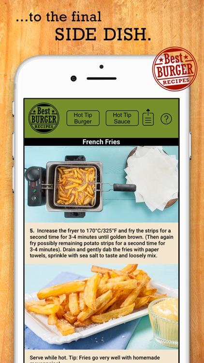Best Burger Recipes screenshot-4