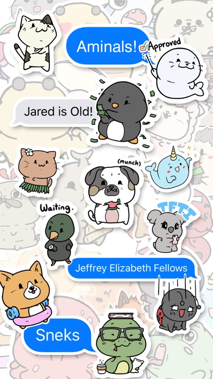 Aminal Stickers screenshot-1