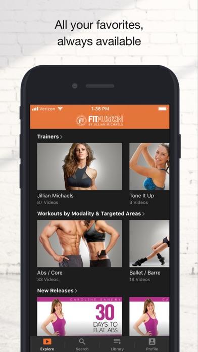FitFusion Workoutsのおすすめ画像3