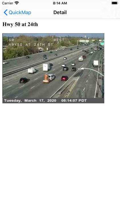 Caltrans QuickMap screenshot-2