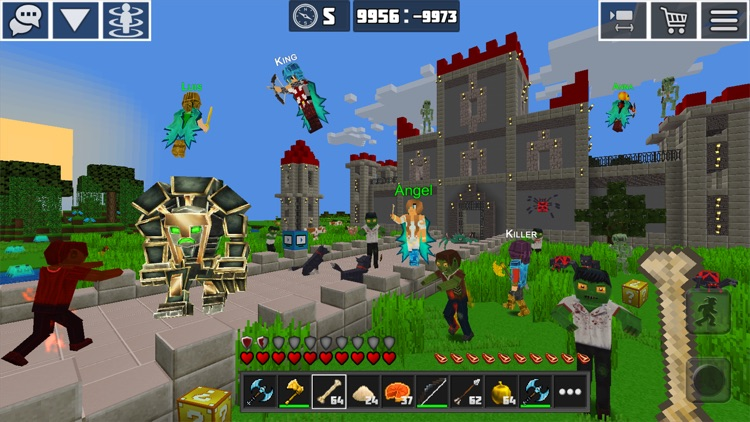 PlanetCraft: Block Craft Games screenshot-1