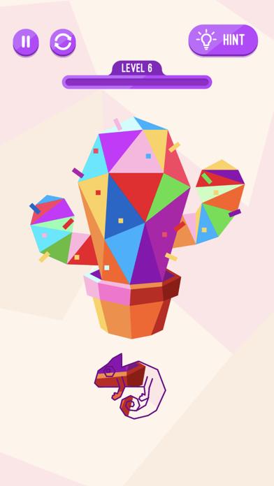 Chameleon Puzzle Game screenshot 5