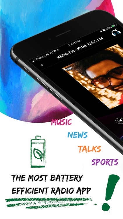 Top Radio: online news, music screenshot-0
