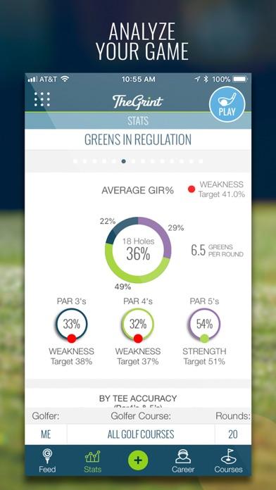 Screenshot #3 pour TheGrint | Your Golferhood