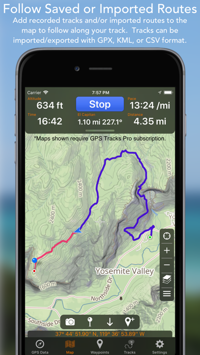 Screenshot for GPS Tracks in New Zealand App Store