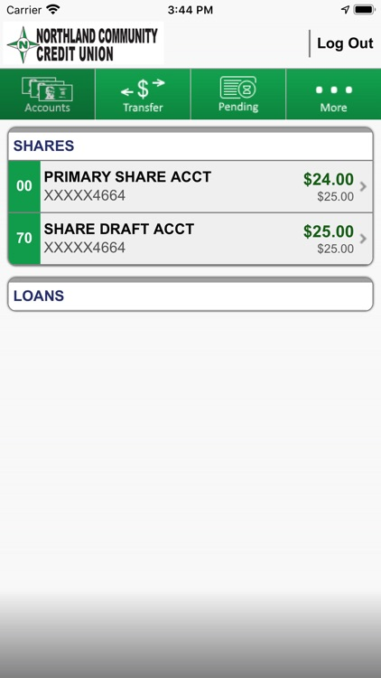 NCCU Mobile Banking screenshot-2