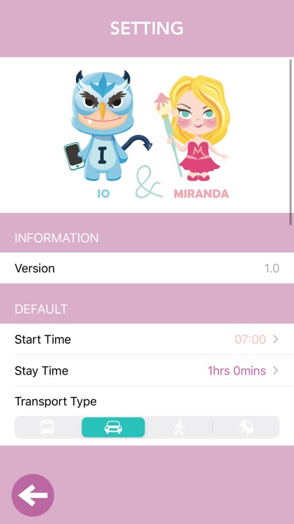I'M Itinerary screenshot-7