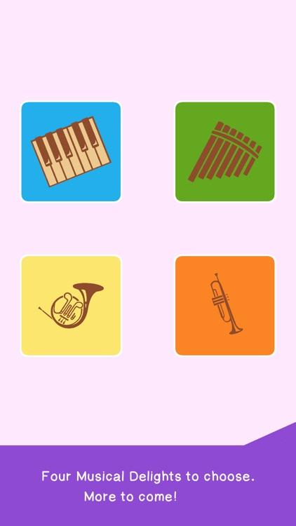 Preschool Kids Music Phone App screenshot-0