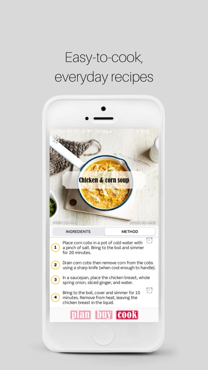 Plan Buy Cook meal planner screenshot-7