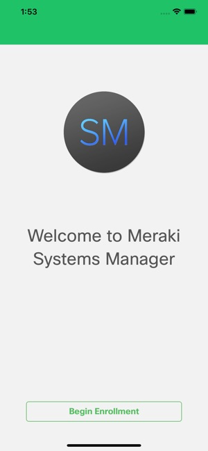 Meraki Systems Manager on the App Store