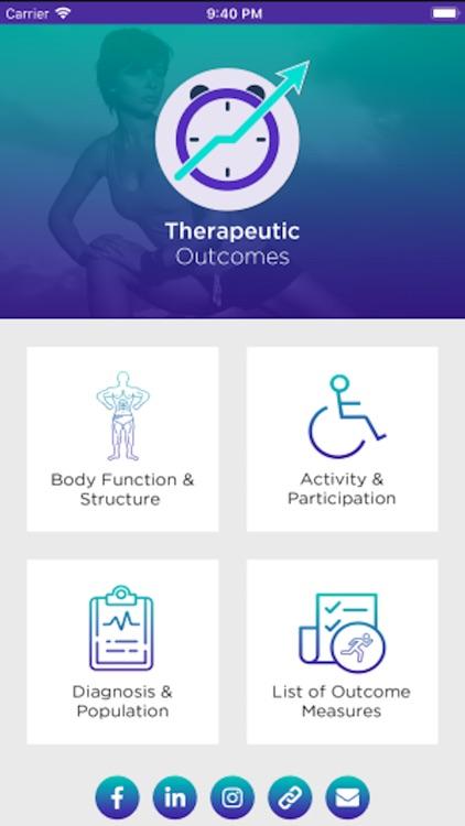 Therapeutic Outcomes