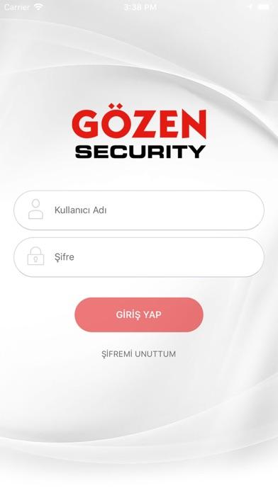 Gözen Security screenshot one