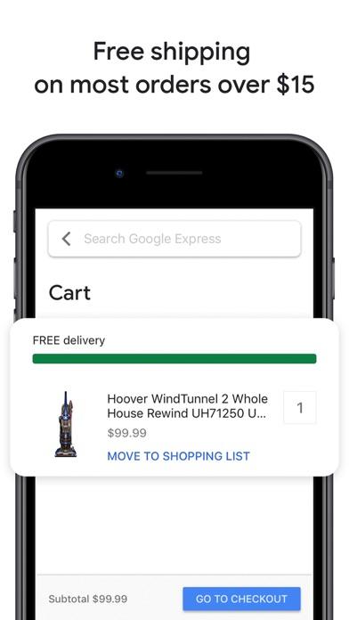 Google Express: one stop shop Screenshot