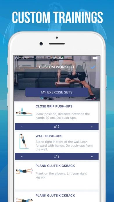 30 Day Upper Body Challenge screenshot three