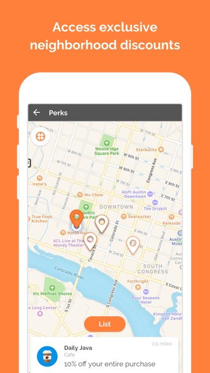 hOp — The new way to neighbor screenshot-3