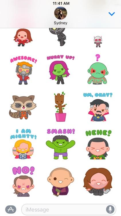 Marvel Stickers: Hero Mix screenshot-4