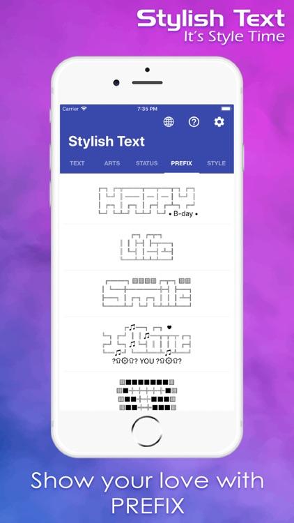 Stylish & Fancy Text screenshot-4