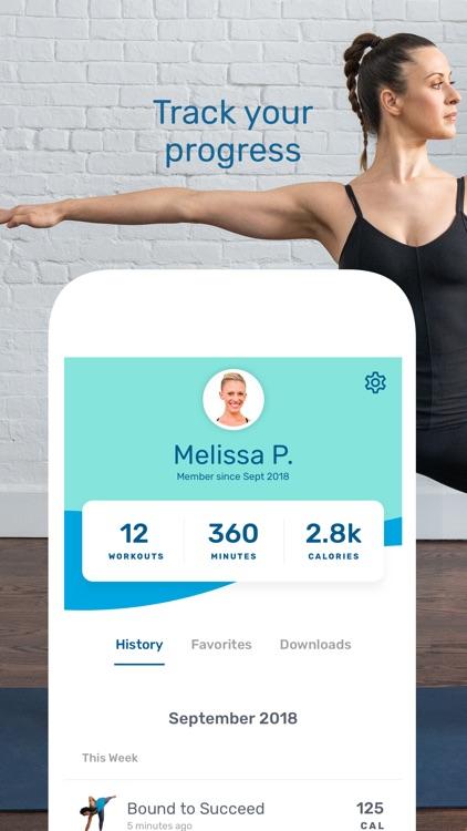 Yoga Workouts by Daily Burn screenshot-8